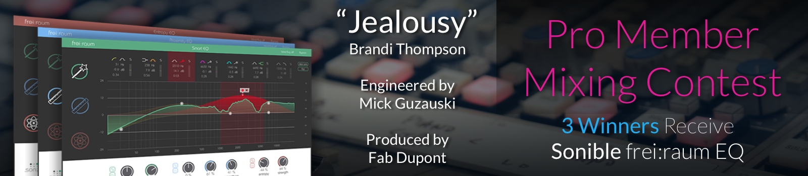 Mix a song recorded by Mick and Fab, exclusive Pro Member Mixing Contest