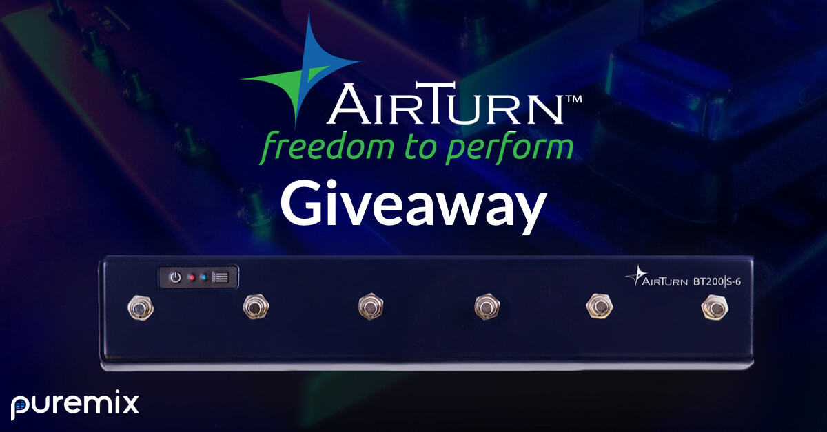 AirTurn Giveaway | pureMix.net