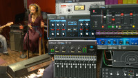 Fab Dupont Mixing a Neo-Soul Song