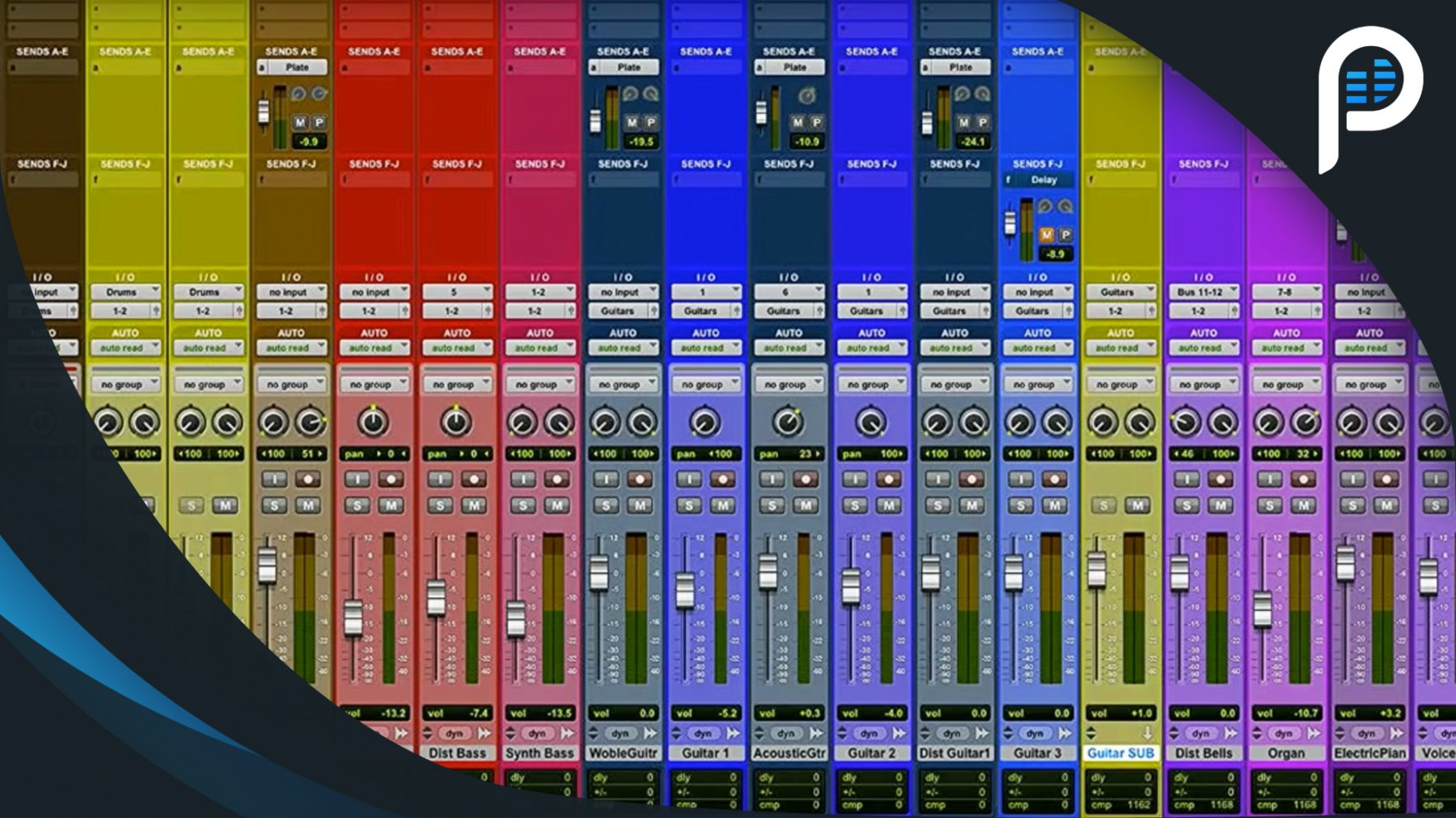 Pro Tools Tutorial: Session Organization - Creating a Mixing