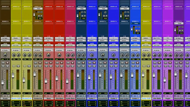 Pro Tools Tutorial Session Organization Creating A Mixing