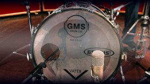 Recording a Bass Drum with 2 Microphones